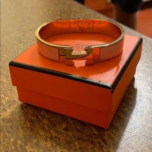 Hermès Bracelet (PINK & GOLD)